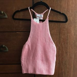 NWT Urban Outfitters knitted crop tank